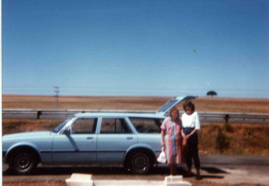 The Cressida on the way to Cape Town with Cathy