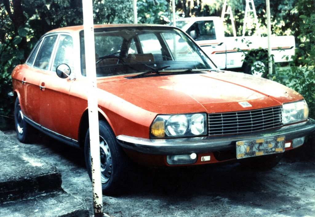 The 1973 orange NSU Ro80 - she never ran for me