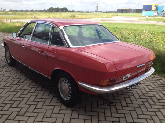 Picture from the Net - showing the rear view NSU Ro80