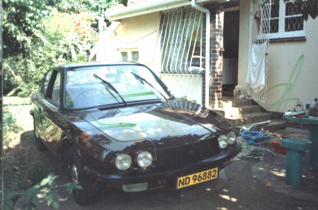 Customised NSU Ro80 Coupe with Mazda 13B motor - the only Ro80 coupe in the world